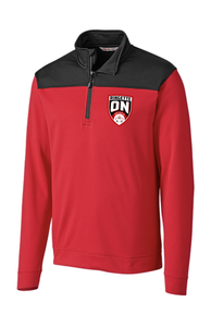 Ringette Ontario Men's Red & Black Pull Over