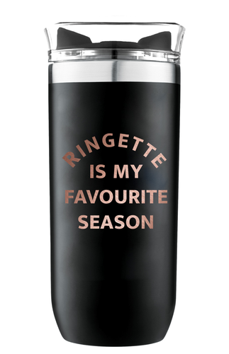 Ringette Season Insulated Twist Leak Proof Copper Vacuum Tumbler 16oz