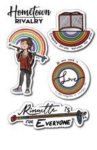 Load image into Gallery viewer, Ringette Pride Sticker Pack