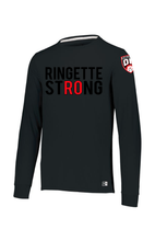 Load image into Gallery viewer, Ringette Strong Mens Long Sleeve Tee