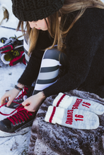 Load image into Gallery viewer, Whitby Wild Ringette Team Mittens