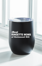 Load image into Gallery viewer, The Real Moms Insulated Wine Tumbler: Black