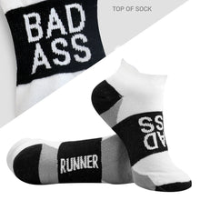 Load image into Gallery viewer, Bad Ass Runner Socks