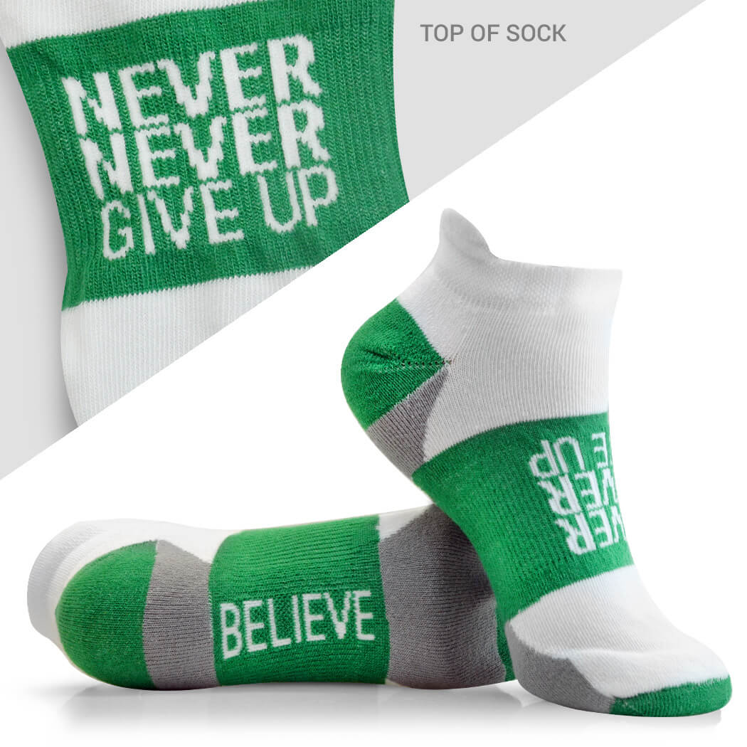 Never Give Up Socks