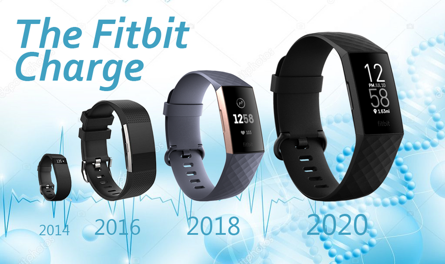Fitbit-Charge 4 Vs. der Charge 3 Vs. der Charge 2 Vs. Der Charge