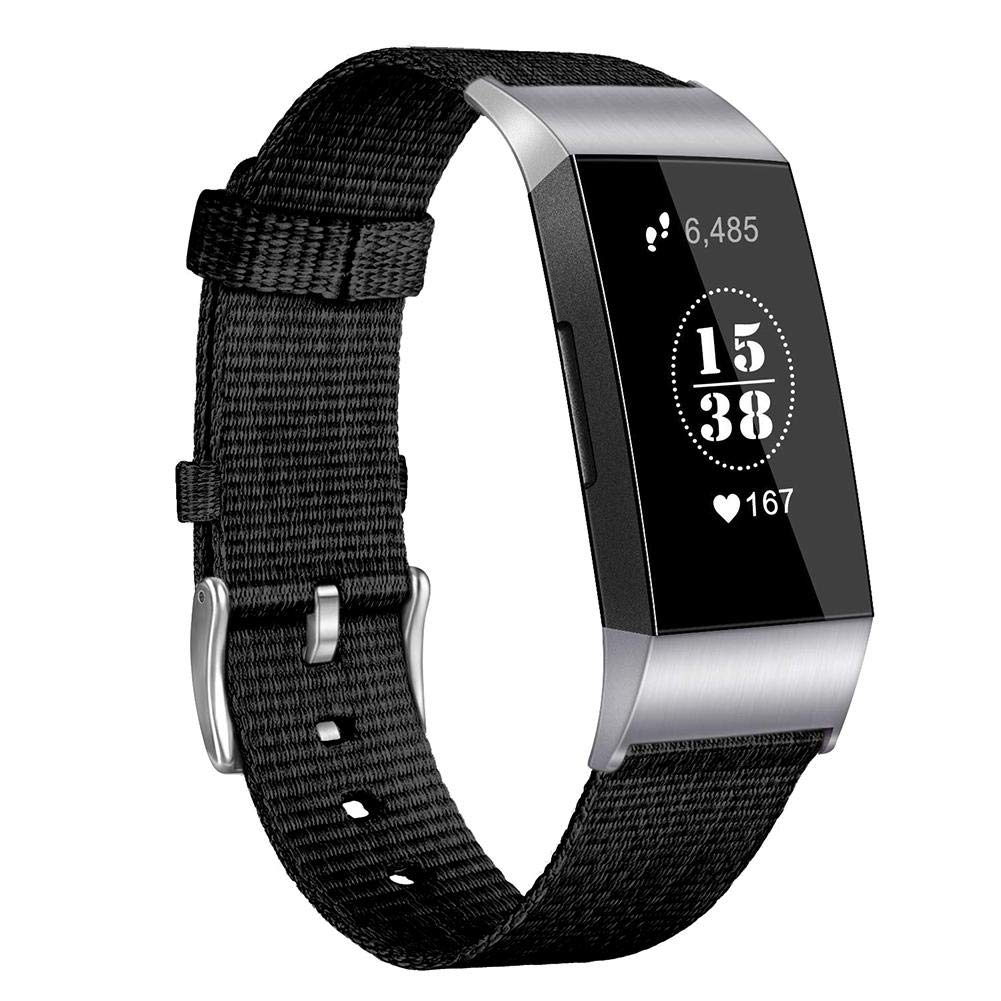 Nylon-Armband für Fitbit Charge 3