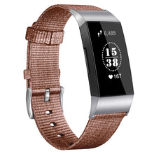 Laden Sie das Bild in den Galerie-Viewer, Nylon-Armband für Fitbit Charge 3