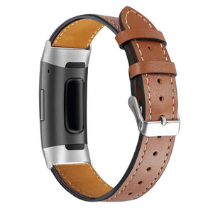 Fitbit Charge 3 Leder-Armband
