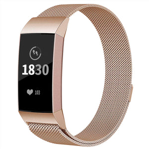 Fitbit Charge 3 Metall-Armband