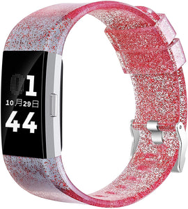Glitter Armband für Fitbit Charge 2