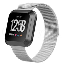 Laden Sie das Bild in den Galerie-Viewer, Fitbit Versa Metall-Armband