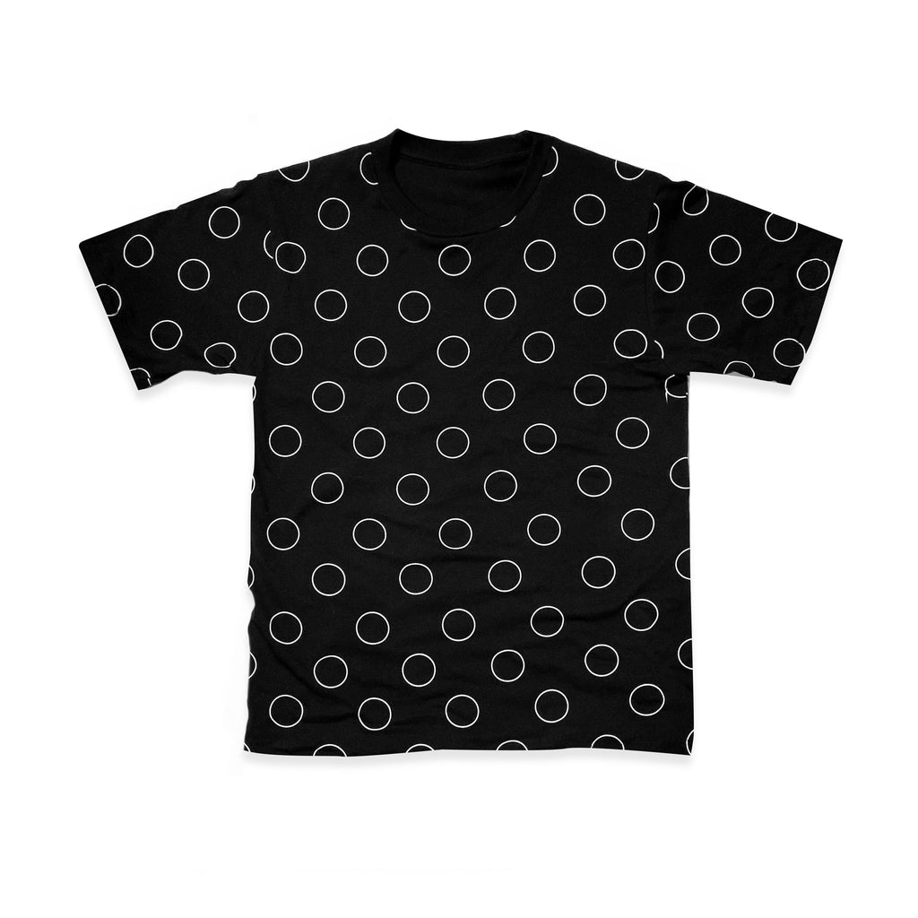 CLOSE THE GAP (Polka Dot T-Shirt in Black)