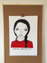 Badly Drawn Marina Abramović - Original Drawing - A2.