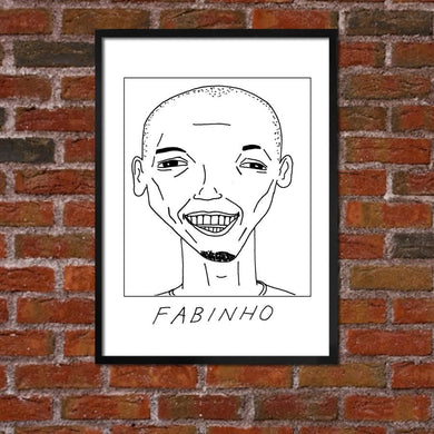 Badly Drawn Fabinho - Liverpool F.C. Premier League Champions - Poster