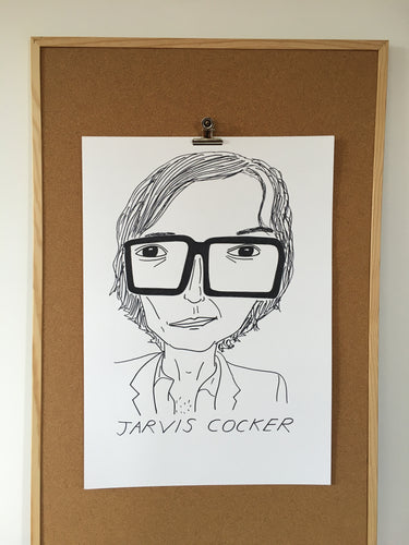 Badly Drawn Jarvis Cocker - Original Drawing - A2