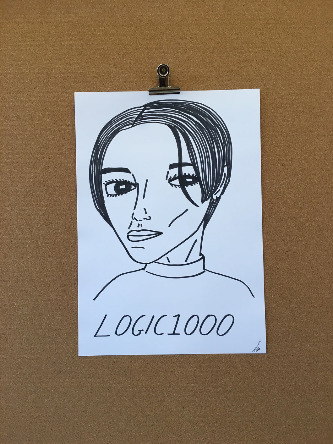 Badly Drawn Logic1000 - Original Drawing - A3.