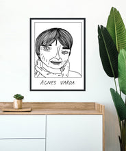 Badly Drawn Agnes Varda - Poster - BUY 2 GET 3RD FREE ON ALL PRINTS