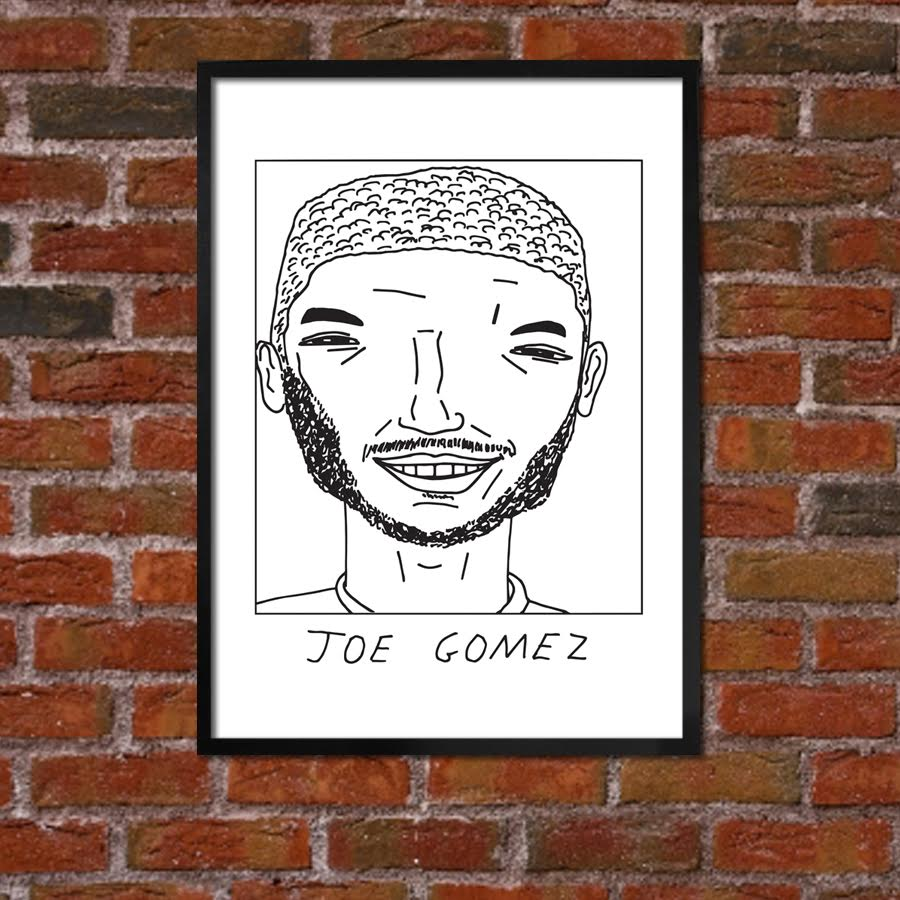 Badly Drawn Joe Gomez - Liverpool F.C. Premier League Champions - Poster
