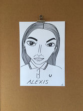 SOLD OUT - Badly Drawn Alexis - Original Drawing - A3.