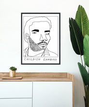 Badly Drawn Childish Gambino - Poster - BUY 2 GET 3RD FREE ON ALL PRINTS