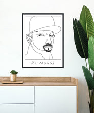 Badly Drawn DJ Muggs - Poster - BUY 2 GET 3RD FREE ON ALL PRINTS