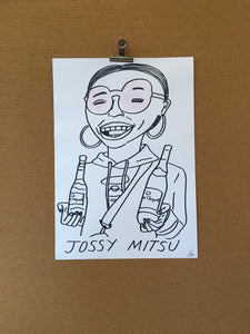 Badly Drawn Jossy Mitsu - Original Drawing - A3.