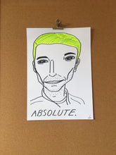 Badly Drawn ABSOLUTE. - Original Drawing - A3.