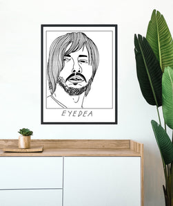 Badly Drawn Eyedea - Poster - BUY 2 GET 3RD FREE ON ALL PRINTS