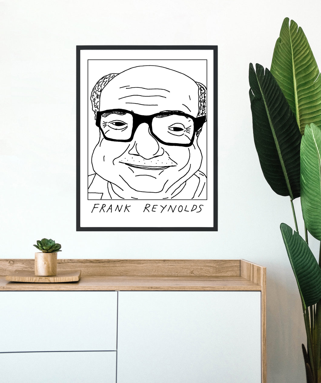Badly Drawn Frank Reynolds - Poster - BUY 2 GET 3RD FREE ON ALL PRINTS