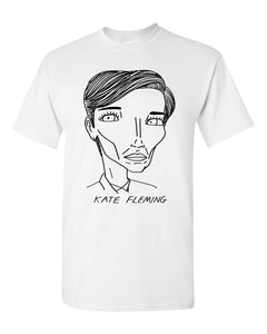 Badly Drawn Line of Duty - Kate Fleming - Unisex T-Shirt