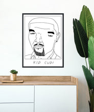 Badly Drawn Kid Cudi - Poster - BUY 2 GET 3RD FREE ON ALL PRINTS