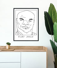 Badly Drawn Kurt Angle - Poster - BUY 2 GET 3RD FREE ON ALL PRINTS