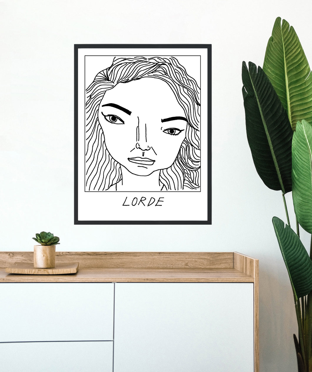 Badly Drawn Lorde - Poster - BUY 2 GET 3RD FREE ON ALL PRINTS