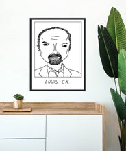 Badly Drawn Louis C.K. - Poster - BUY 2 GET 3RD FREE ON ALL PRINTS