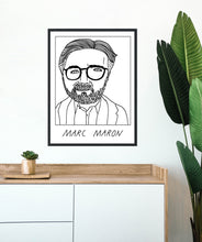 Badly Drawn Marc Maron - Poster - BUY 2 GET 3RD FREE ON ALL PRINTS