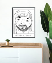 Badly Drawn Method Man - Poster - BUY 2 GET 3RD FREE ON ALL PRINTS