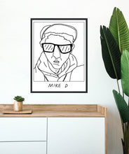 Badly Drawn Mike D - Poster - BUY 2 GET 3RD FREE ON ALL PRINTS