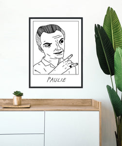 Badly Drawn Paulie - Poster - BUY 2 GET 3RD FREE ON ALL PRINTS