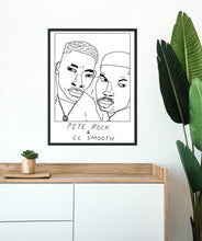 Badly Drawn Pete Rock & C L Smooth - Poster - BUY 2 GET 3RD FREE ON ALL PRINTS