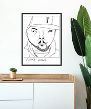 Badly Drawn Phife Dawg - Poster - BUY 2 GET 3RD FREE ON ALL PRINTS