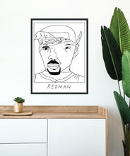 Badly Drawn Redman - Poster - BUY 2 GET 3RD FREE ON ALL PRINTS