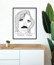 Badly Drawn Ringo Starr - Poster - BUY 2 GET 3RD FREE ON ALL PRINTS