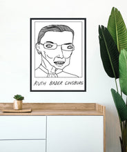 Badly Drawn Ruth Bader Ginsburg. - Poster - BUY 2 GET 3RD FREE ON ALL PRINTS