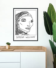 Badly Drawn Serena Williams - Poster - BUY 2 GET 3RD FREE ON ALL PRINTS