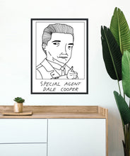 Badly Drawn Special Agent Dale Cooper - Poster - BUY 2 GET 3RD FREE ON ALL PRINTS