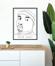 Badly Drawn Talib Kweli  - Poster - BUY 2 GET 3RD FREE ON ALL PRINTS