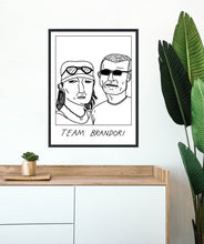 Badly Drawn Team Brandori - Poster - BUY 2 GET 3RD FREE ON ALL PRINTS