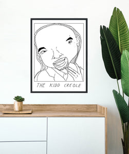 Badly Drawn The Kidd Creole - Poster - BUY 2 GET 3RD FREE ON ALL PRINTS