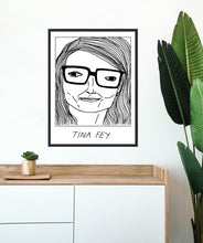 Badly Drawn Tina Fey - Poster - BUY 2 GET 3RD FREE ON ALL PRINTS