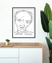 Badly Drawn Werner Herzog - Poster - BUY 2 GET 3RD FREE ON ALL PRINTS
